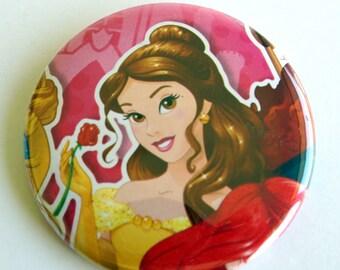 10 Upcycled Disney Princess - Princess Party Favors - fête d'anniversaire de princesse - princesse Belle faveurs - princesse Belle fête boutons