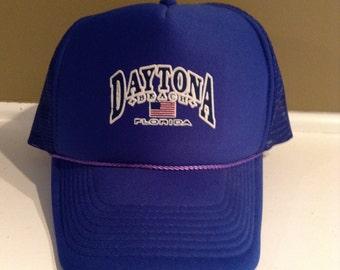 Vintage Daytona Beach Florida trucker hat