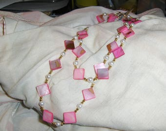 Hot Pink Diamonds necklace