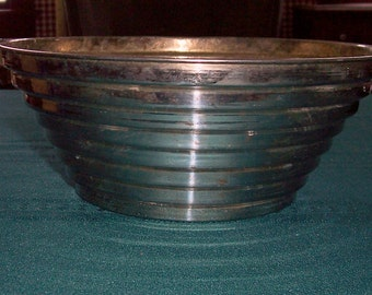 Vintage Tiered Silver Plate Bowl - 1970s