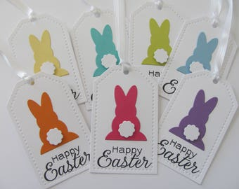 Easter Tags, Happy Easter Favor Tags, Easter Gift Tags, Easter Bunny Tags, Easter Basket Gift Tags, Happy Easter Gift Tags, Easter Bunny Tag