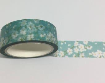 White Cherry Blossom Washi Tape