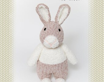 Rhian the rabbit knitting pattern