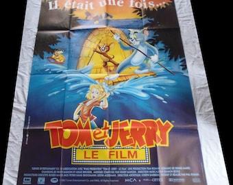 1992 Tom and Jerry movie poster original 120X160cm