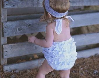 White Eyelet Sunsuit, Baby Girl Sunsuit Romper, Ruffle Romper, Toddler Girl, Beach Pictures, Beach Outfit