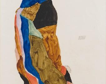 Egon Schiele: Moa. Fine Art Print/Poster. (003691)