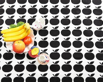 Black Apples Cotton Fabric - By the Yard 53946