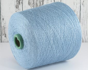 Silk yarn on cone, Italy, 100% Italian silk, per 100g/art. 1006