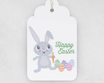 Easter Gift Tags - Bunny - Gift Tags - Set of 6