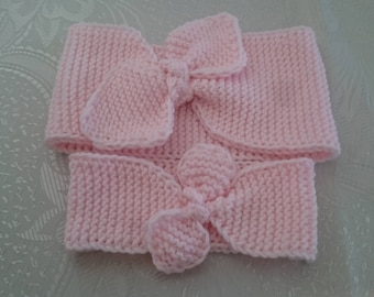 Mommy and Me headband - Multiple Colors Available Baby bow headband Matching headbands infant headband Mom and daughter  Mother's Day Gift