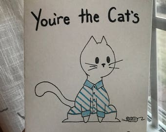 Cat's pajamas - blue