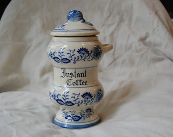 Vintage Instant Coffee Canister
