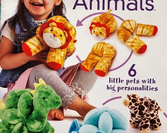 Sew & Play Puzzle Ball Animals Instruction Booklet