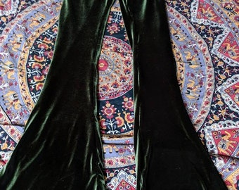 Velvet Bell bottom flare pants