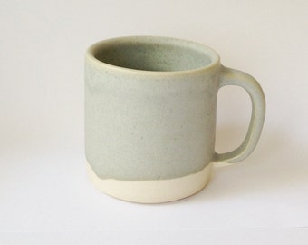 Set of Two Coffee Mugs (grey) for Bess and Mike's Wedding Registry