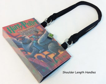 Harry Potter and the Prisoner Of Azkaban Book Purse - Harry Potter Book Clutch - Book Cover Handbag - Purse made from a book