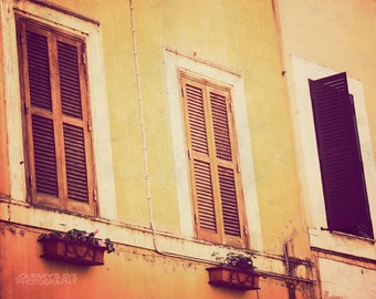 Rome artwork, fine art photograph, travel photography, vintage, Europe, Italian, neutral decor - Classic Italy