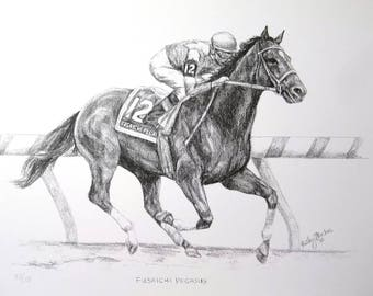 FUSAICHI PEGASUS Kentucky Derby Winner Art
