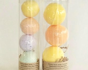 Bath Bombs, bath bombs in tubes, fizzy bombs, spa, bath gift,relax,gift for girlfriend, bridesmaid, wedding favors, for her, aromatherapy