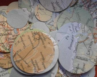 "100  1"" Map Circles"