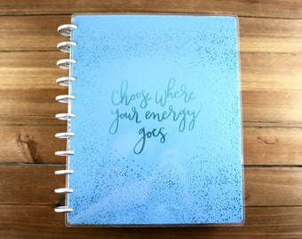 Create 365 2018-2019 18 Month Big Happy Planner / 2018-2019 Planner / Me and My Big Ideas / 18 Month Happy Planner / Wellness Planner