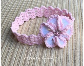 "Instand Download Crochet Pattern Headband ""Candice"""