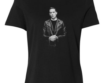 G Eazy Leather JacketvCustom Women's Relaxed Fit Tee T-Shirt New-Black