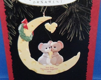 1996 Our First Christmas Together Hallmark Retired Ornament