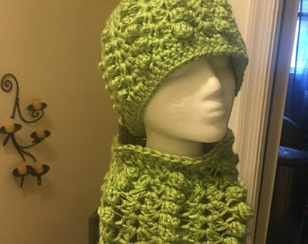Bubble Hat and Neckwarmer