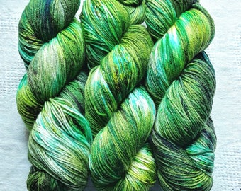 Mermaid Lagoon   Hand Dyed Yarn