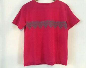 Vintage Body&Co Ladies Top Shirt Large Excellent Condition Purple Pink