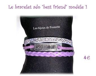 Teen multi strand bracelet