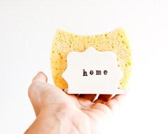 Ceramic sponge holder, Home sponge holder, Napkin holder, Sponge dish, Ceramics & pottery, Kitchen sponge holder, Pottery sponge holder,