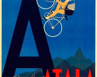 Atala Bicycle Poster (#0317) 6 sizes