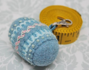 IN STOCK - Delicate Spring Double Small Bottlecap pendant wearable chatelaine pincushion