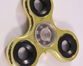 HAND spinner in golden metal