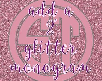 ADD Glitter Personalization to any item !!
