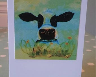 Daisy the Cow Greeting Card
