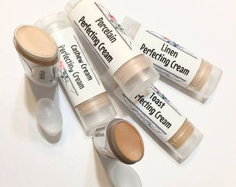 PERFECTING CREAM Contour Foundation Concealer - Natural Makeup In a Stick - Vegan Gluten Free