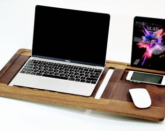 Laptop Stand laptop table Macbook Stand Laptop Heat Protection laptop cradle Mobile Air Desk Lap Desk Macbook table mothers day gift