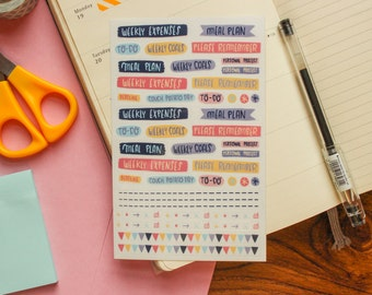 Please remember ~ Planner stickers sheet