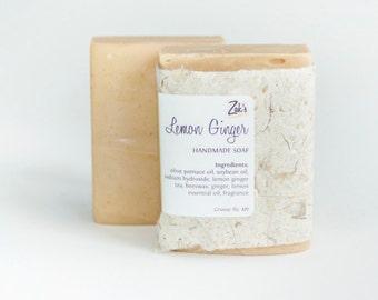 Lemon Ginger Handmade Soap