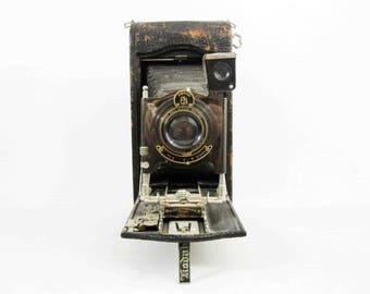 Antique Kodak No. 3A Model C Folding Autographic Camera. Circa 1910's.