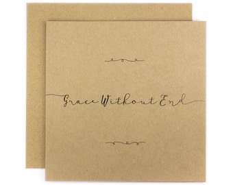 Grace Without End Greeting Card | Made In Australia