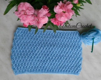 Crochet cowl scarf neckwarmer for kids
