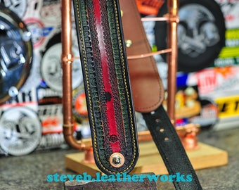 The Corona: an instrument  strap for Bass & Guitar Players