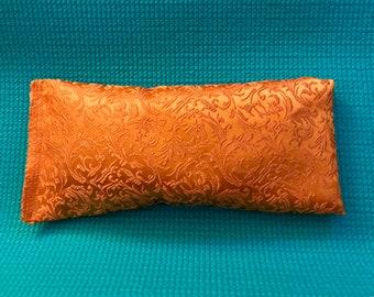 Silk Lavender and Flax Eye Pillow, Yoga Eye Pillow, Relaxation Eye Pillow, Lavender Eye Pillow, Silk Eye Pillow,Flax Eye Pillow,Aromatherapy