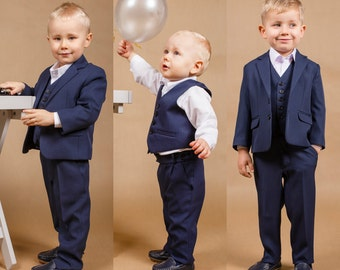Wedding boy outfit Ring bearer suit Boy wedding suit Baptism boy suit Wedding boy suit Baby boy outfit Wedding boy outfit Ring bearer outfit