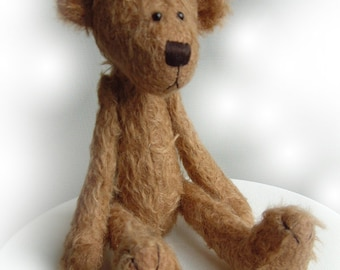OOAK artist bear Hammond e-pattern by Jenny Lee of jennylovesbenny bears PDF