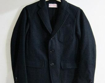 Vetra Navy Jacket Wool French